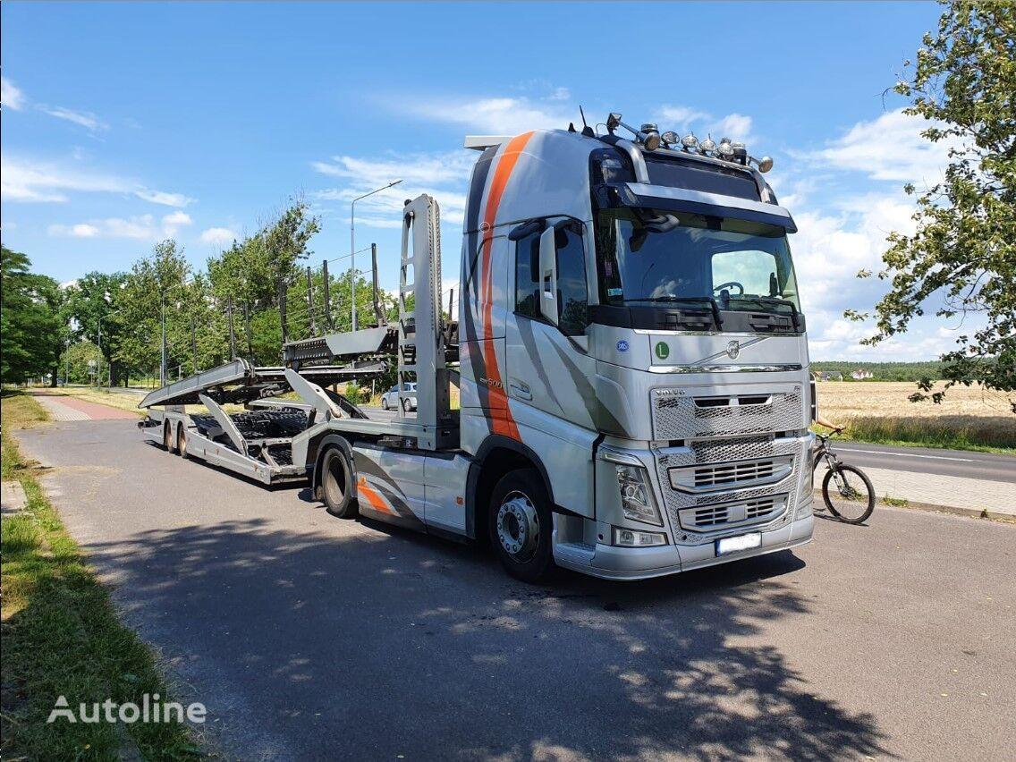شاحنة نقل السيارات VOLVO FH + LOHR EHR 200 C2