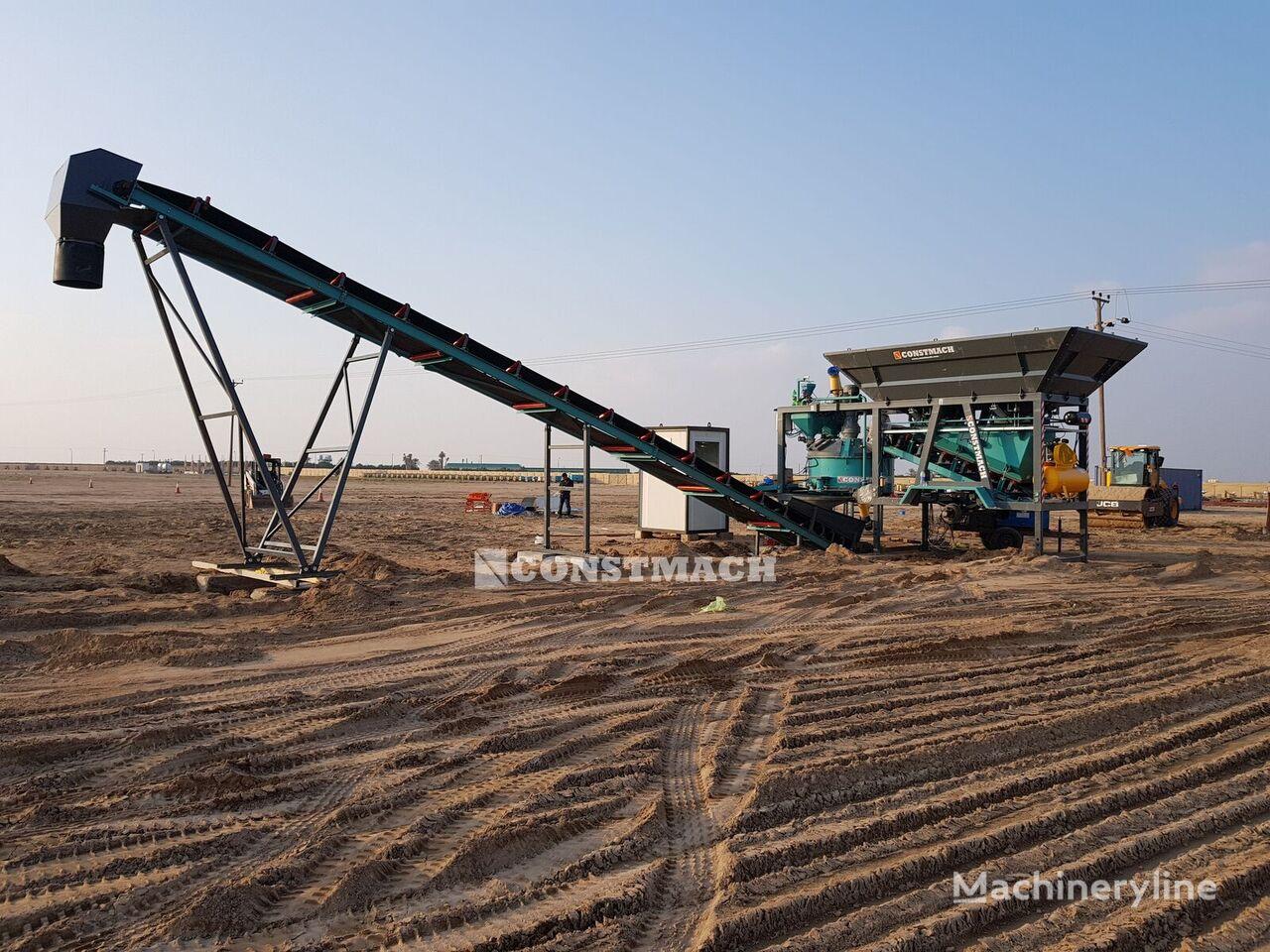 جديد ماكينة صناعة الخرسانة CONSTMACH MOBILE & COMPACT TYPE CONCRETE PLANT, 30 m3/h CAPACITY