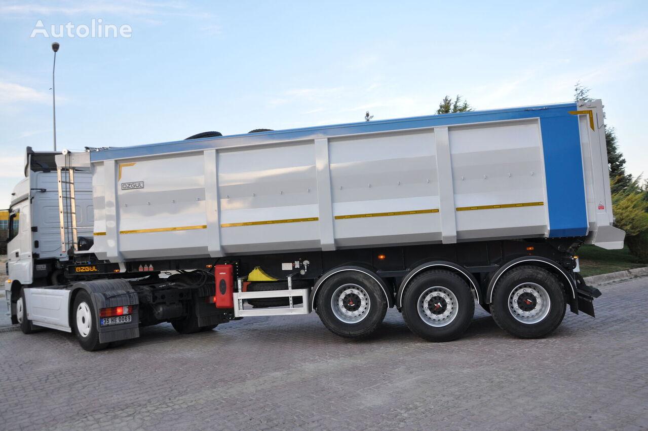 جديدة العربات نصف المقطورة شاحنة نقل الحبوب OZGUL