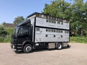 شاحنة نقل المواشي MERCEDES-BENZ Axor Pezzaioli 1/2 stock Veewagen Hefdak