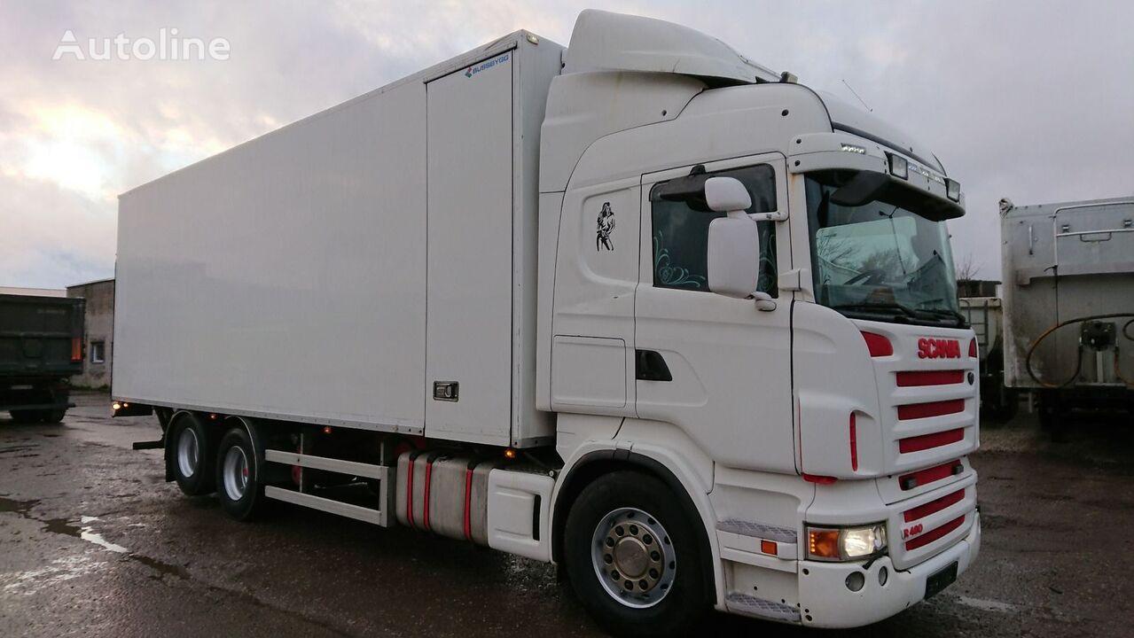 شاحنة التبريد SCANIA R480