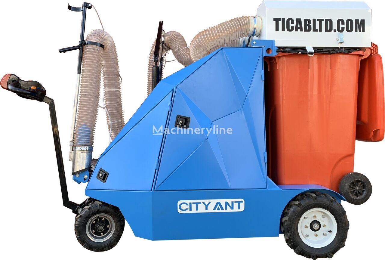 جديد مكنسة كهربائية في الشارع TICAB  Ulichnyy vakuumnyy pylesos CityAnt Electro/Street Vacuum CLEANER