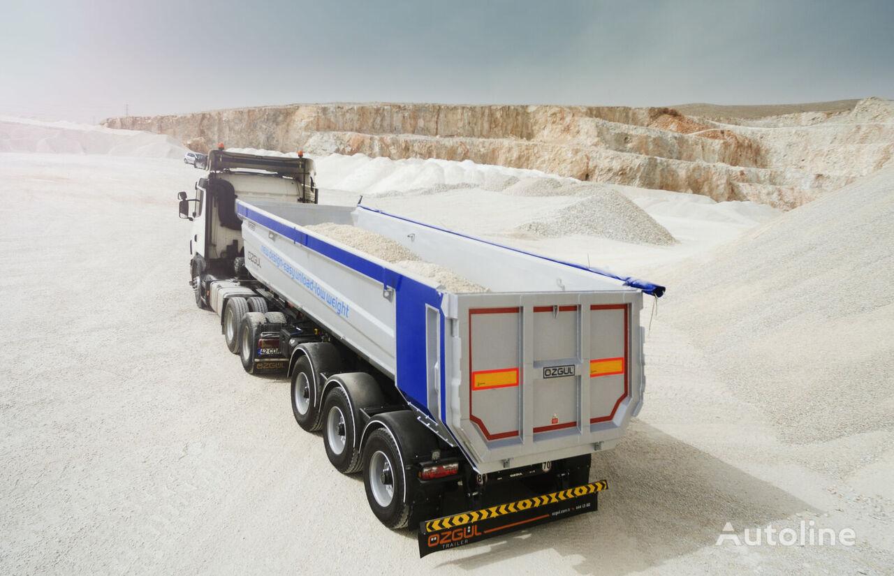جديدة العربات نصف المقطورة شاحنة قلابة OZGUL