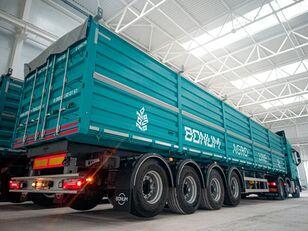 جديدة العربات نصف المقطورة شاحنة نقل الحبوب Бортовой зерновоз BONUM