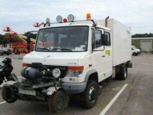 شاحنة مقفلة MERCEDES-BENZ 4x4 VARIO Schörling RAIL Two Way SchienenSERVICE