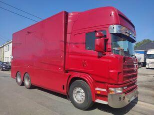 شاحنة مقفلة SCANIA 144 G  460  V8   6x2  ///MANUEL//RETARDER///FRENCH TRUCK///