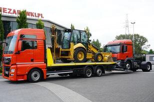 شاحنة نقل السيارات MAN TGX 26.440 XXL , E6 , 6X2 , NEW BODY 7,5m , hydraulic , 2x winch