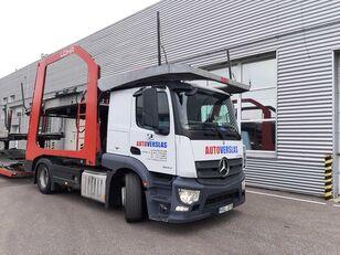 شاحنة نقل السيارات MERCEDES-BENZ ACTROS + العربات المقطورة شاحنة نقل السيارات