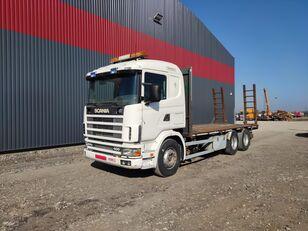 شاحنة نقل السيارات SCANIA 124.400