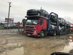 شاحنة نقل السيارات VOLVO FM 440 + العربات المقطورة شاحنة نقل السيارات