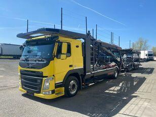 شاحنة نقل السيارات VOLVO FM 460 Supertrans  Komp Bj 02/2016 2x Vorhanden