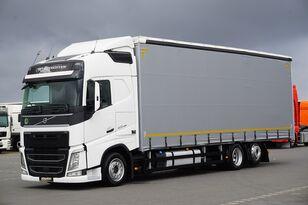شاحنة ذات أغطية جانبية VOLVO / FH / 420 / ACC / EURO 6 / FIRANKA / 22 PALETY / DŁ. 9,05 M
