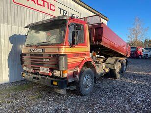 شاحنة قلابة SCANIA 113, 6x2, BIX AXLES, FULL STEEL, MANUAL