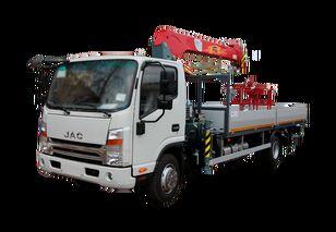 جديدة شاحنة مسطحة JAC Бортовой автомобиль с КМУ FG-414