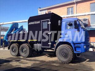 جديدة شاحنة مسطحة KAMAZ 43118 с КМУ ИМ-150