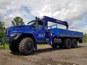 جديدة شاحنة مسطحة URAL 4320 NEXT с тросовым КМУ DY (DongYang) SS1956 ACE