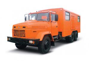 جديدة شاحنة عسكرية KRAZ 65053 мастерская