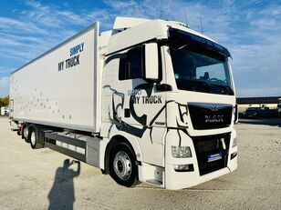 شاحنة التبريد MAN TGX 26.420 E6 6x2 chłodnia 24 Euro palet , Super stan